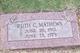 Ruth C Mathews