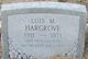 Lois M. <I>Staggs</I> Hargrove