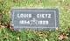 Louis Dietz