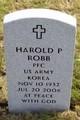 Profile photo:  Harold P Robb