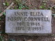Annie Eliza <I>Posey</I> Cornwell
