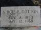 Profile photo:  Virgie E <I>Stokes</I> Cotton