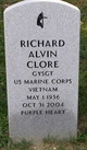 Profile photo:  Richard Alvin Clore