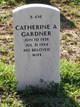 Profile photo:  Catherine A Gardner