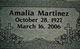Amalia <I>Ortiz</I> Martinez