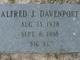"Profile photo:  Alfred J. ""Big Al"" Davenport"