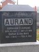 Profile photo:  Abraham George Aurand