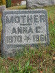 Anna Cordelia <I>Bookey</I> Judson
