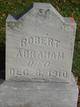 Profile photo:  Robert Abraham