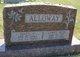 Profile photo:   Mary C <I>Allsup</I> Alloway