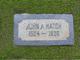 John Arthur Hatch