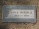 Profile photo:  Ann B. <I>Lasher</I> Marshall