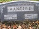 Mary Sophie <I>Hinkel</I> Mangold