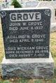 Profile photo:  Adaline W Grove