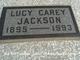 Lucy <I>Carey</I> Jackson