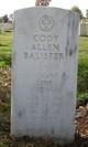 LTJG Cody Allen Balisteri