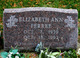Elizabeth Ann Ferree
