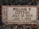 Profile photo:  William Walter Cotton