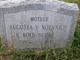 Profile photo:  Augusta V <I>Noennich Kolb</I> Burke