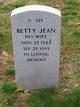 Profile photo:  Betty Jean Gardner