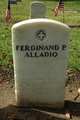 Profile photo:  Ferdinand Patrick Alladio