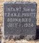 Infant son Pruitt