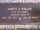 Leroy Anderson Keller Sr.