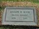 Profile photo:  Adolph H Koch