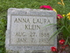 Profile photo:  Anna Laura <I>Seifert</I> Klein