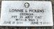 Lonnie Lee Pickens