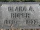 Clara Ann <I>McCullough</I> Roper