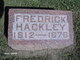 Fredrick Hackley