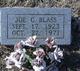 Profile photo:  Joe C. Blass