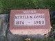 Myrtle Mae <I>White</I> Davis