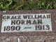 Grace Anna <I>Wellman</I> Norman