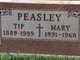 Mary <I>Getzel</I> Peasley