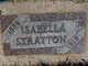 Isabella <I>Caldwell</I> Stratton