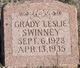 "Grady Leslie  ""Corky"" Swinney"
