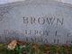 Leroy L Brown