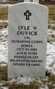 Corp Lyle Victor Duvick