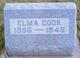 Elma <I>LeBeau</I> Cook