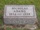Profile photo:  Dominic Nicholas Adang