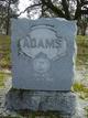 Profile photo:  Mamie Adams