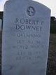 SGT Robert Paul Downey