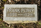 Frank Perry