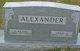 Harriett Elsie <I>McDonald</I> Alexander