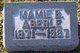 Mamie B <I>Mitchell</I> Aberle
