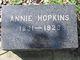 Profile photo:  Annie Hopkins