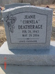 "Profile photo:  Jeanie ""Cornela"" Deatherage"