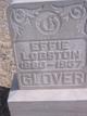 Effie <I>Logston</I> Glover